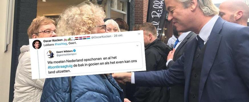 Iemand deed bontkraagresearch na een tweet van Wilders en het is hilarisch https://t.co/YBzCE5OxCn https://t.co/Sw8LdSdbz2