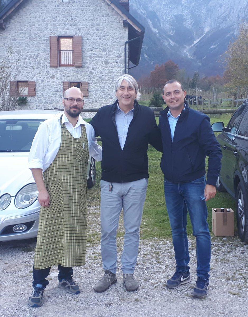 Ieri a Barcis abbiamo incontrato anche Ramiro Besa...