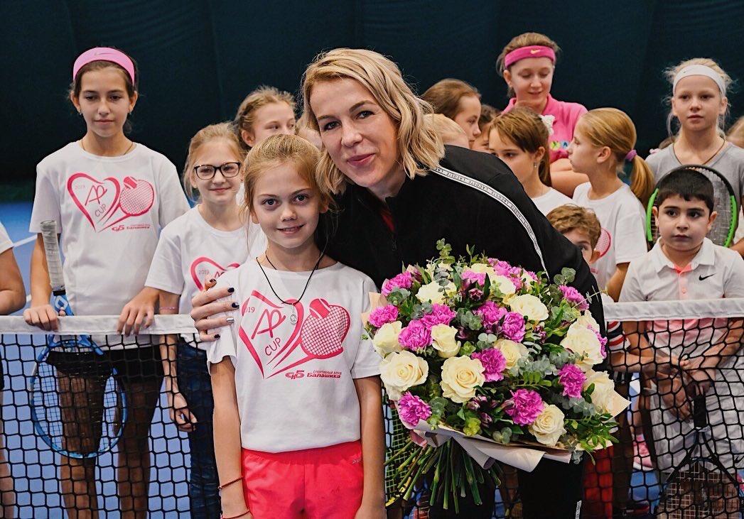 Anastasia Pavlyuchenkova @NastiaPav