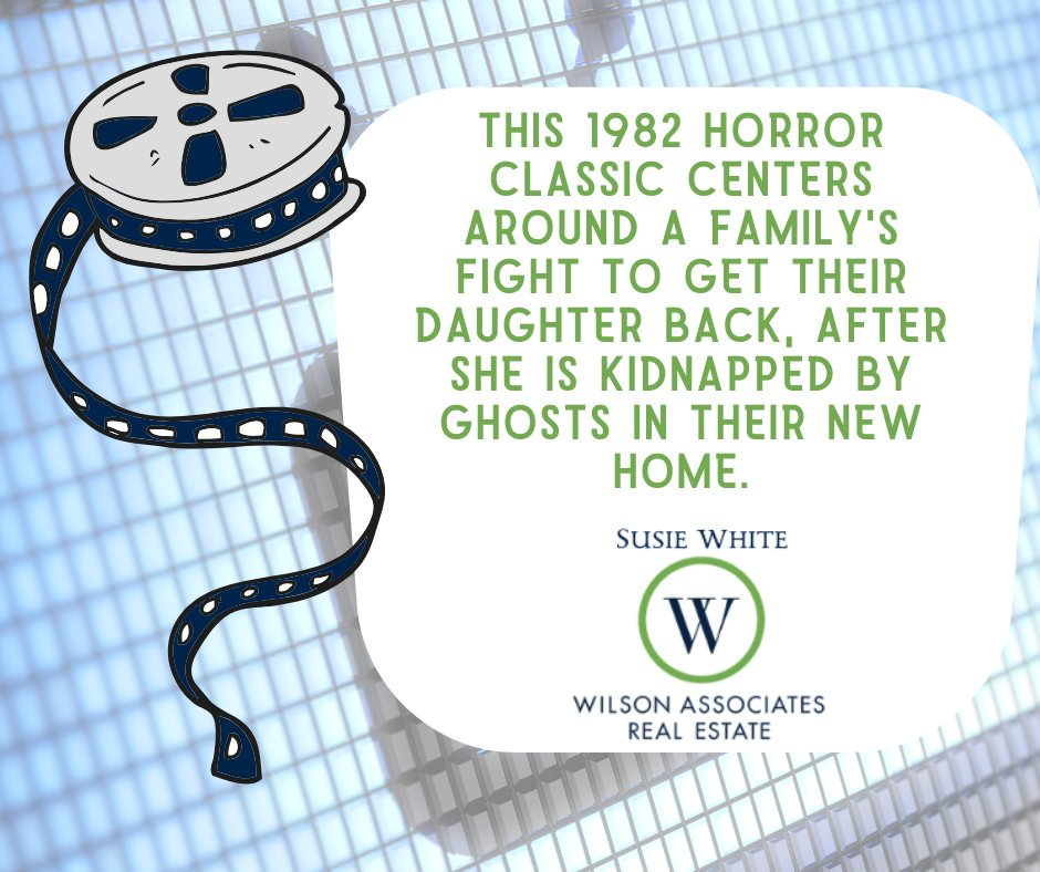 """What better way to celebrate Halloween """"real estate style"""" than with some haunted house trivia?  #WilsonAssociates #yeahthatgreenville #WilsonAssociatesRealEstate #Greenville #GreenvilleRealEstate #GreenvilleSC #RealEstate #HauntedHouse #Halloween #Movietrivia #LetsGototheMovies"""