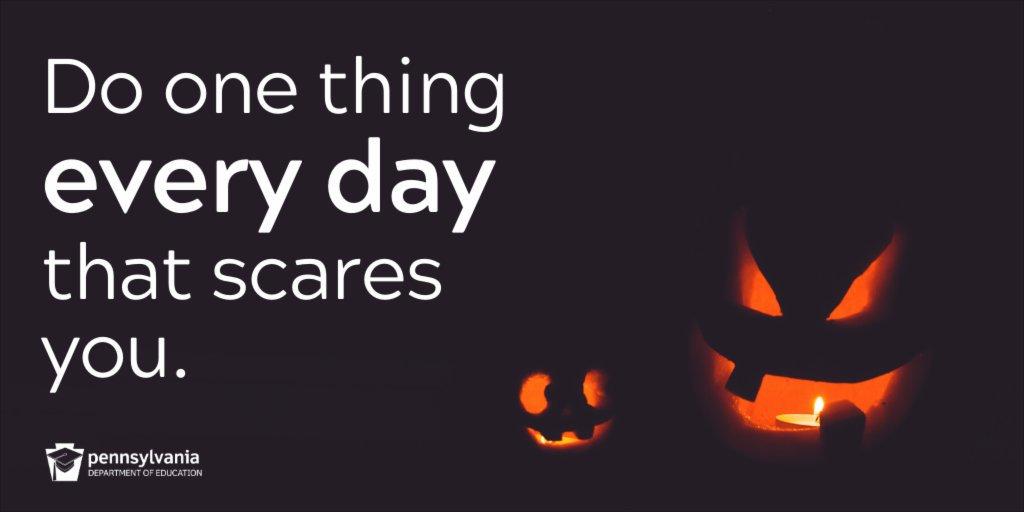 #MondayMotivation (🎃 in the spirit of Halloween)