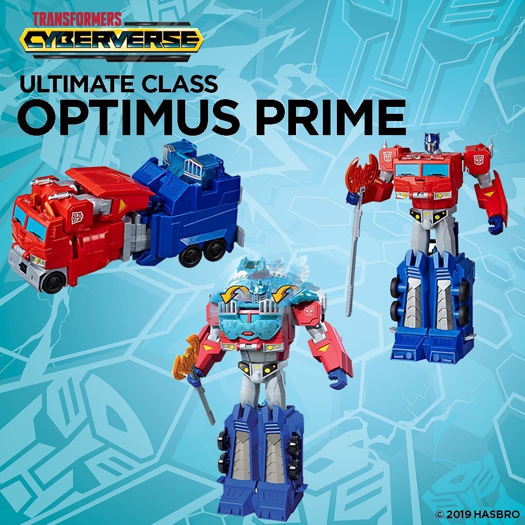 Revealed this weekend at @MCMComicCon! Power-packed Ultimate & Ultra Class Cyberverse figures, now with NEW Energon Armor activation making them truly #MORETHANMEETSTHEEYE! #Transformers go.hasb.ro/2WgY0pY