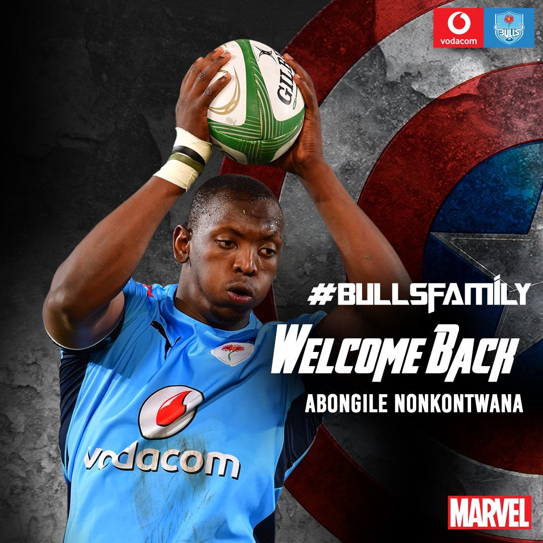 Welcome back Big Daddy We are excited about big loose forward, Abongile Nonkontwana, returning to Loftus... Looking forward to having the big guy back home. #Bullsfamily