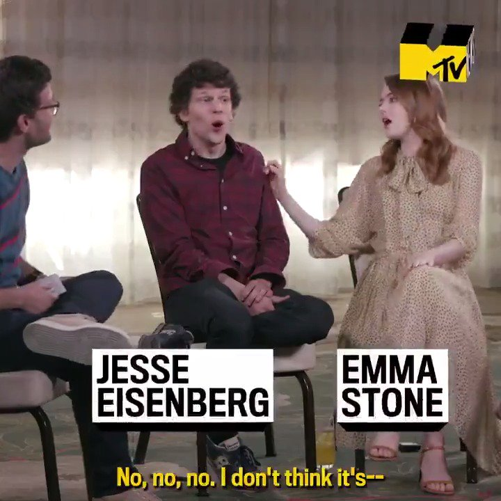 Good news— there's weed in @Zombieland! 🍃 @yoabbaabba, Emma Stone, and Jesse Eisenberg talked to us about smoking with #Zombieland co-star @WoodyHarrelson— and why @joshuahorowitz should steer clear 😂