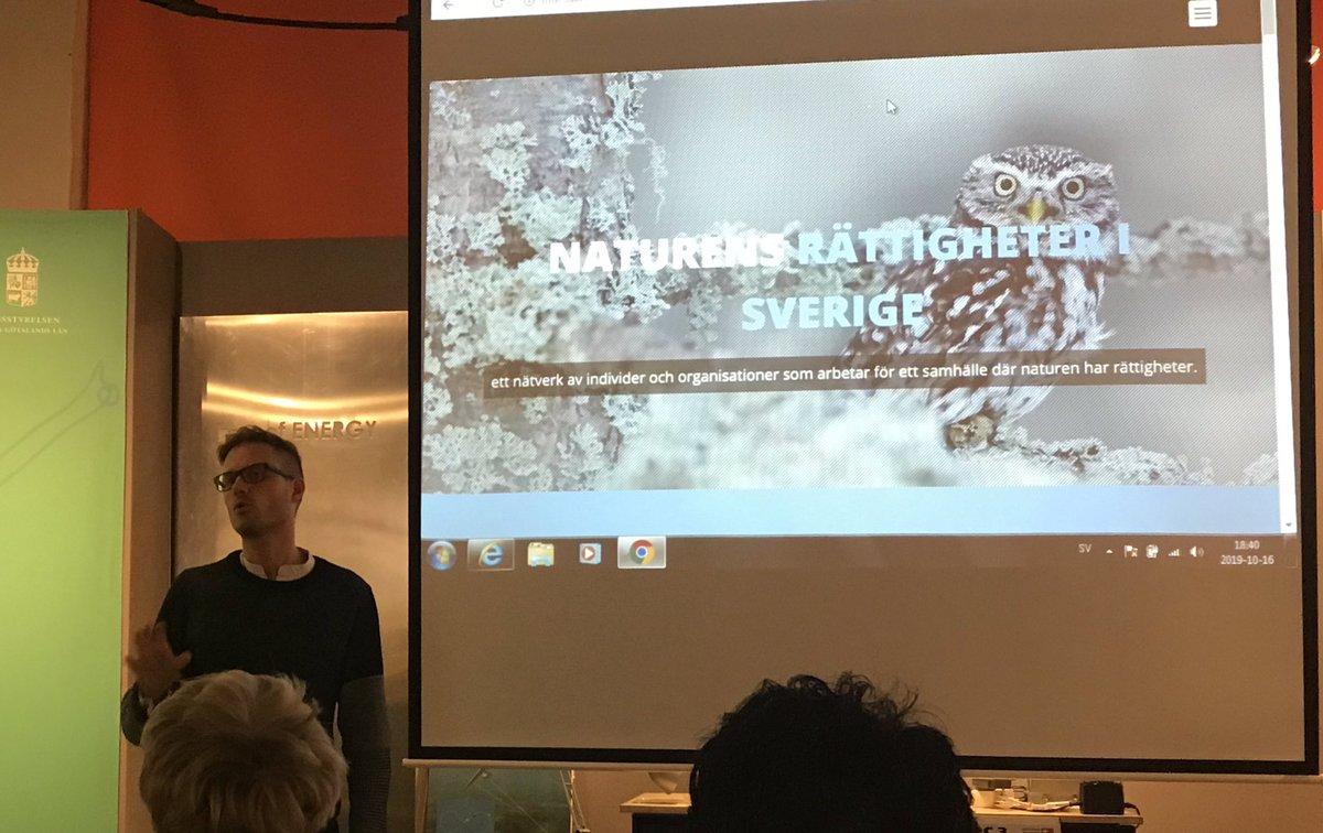 Naturens rättigheter. Om vi ger naturen juridiska rättigheter får ekosystem får en röst. Docent Martin Hultman föreläser på #ekocentrum