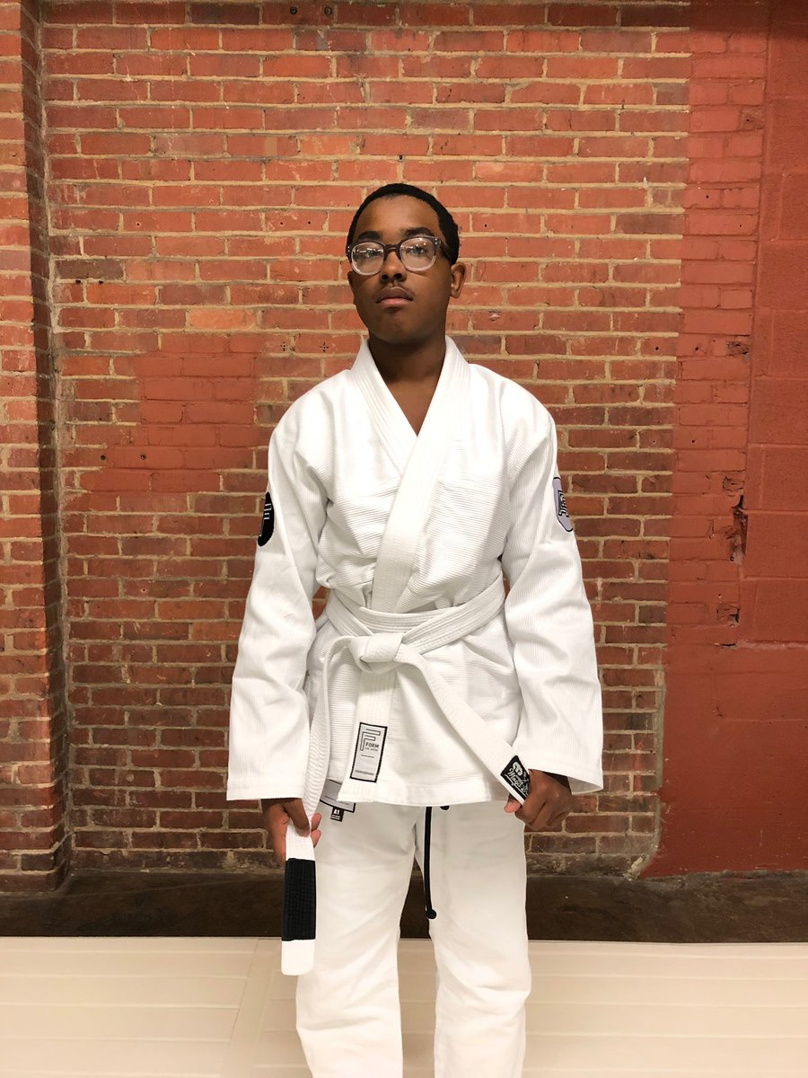 I am so proud of this young man for taking me up on my offer and getting into the dojo. Showing up is half the battle and that applies to everything in this life. We're all in this together, let's go champ!