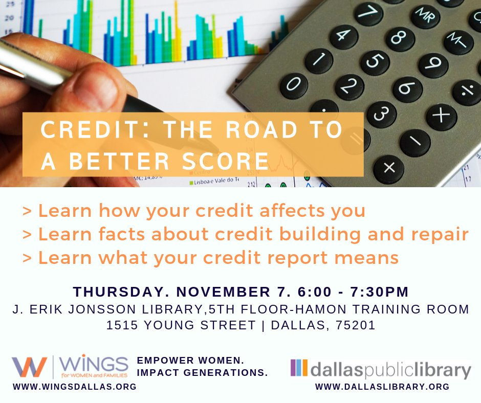 "test Twitter Media - One of the biggest questions we hear from community members is, ""How can I improve my credit?"". The topic of credit is a hot one, and we're here to help you master it. Join us on Nov. 7th for this informative no-cost workshop guiding you to achieving your best credit score yet! https://t.co/ytWy3nqPby"