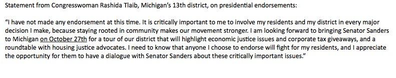 Ayanna Pressley breaks with AOC on Sanders endorsement