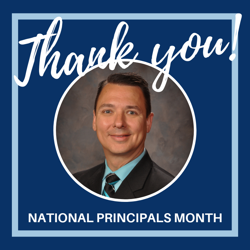 Thank you Principal Glen Abshere for leading Westside Elementary School in Claremore!