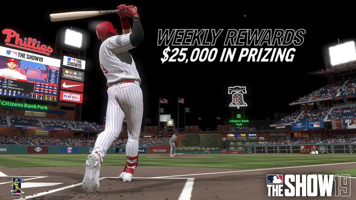 You're on deck. Enter the MLB The Show 19 PS4 Tournaments: Fall Cup and compete for weekly prizes: http://play.st/2VNMbHi