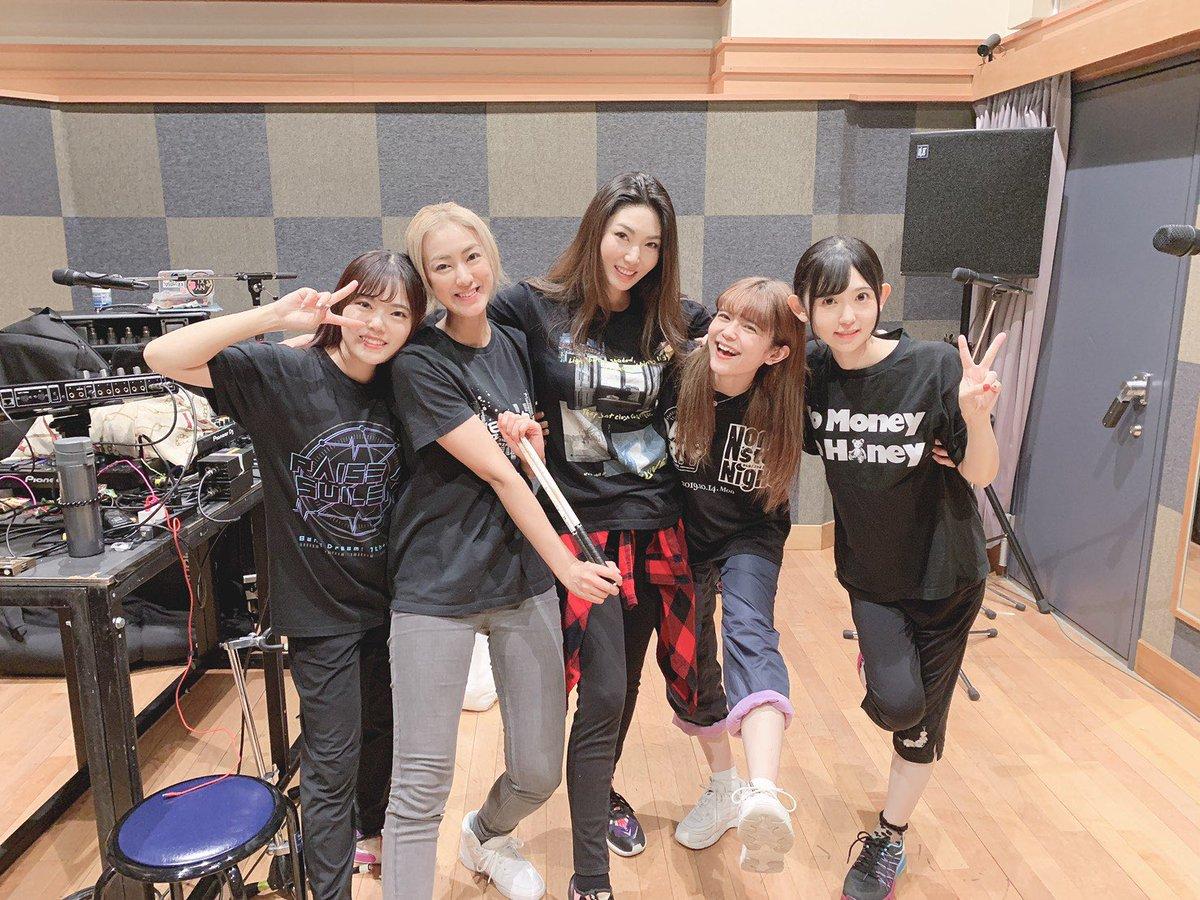 #RAS リハ!!😊🎊🎸今日も一日お疲れ様でした✨次のライブはANIMAX神戸🐄個人的にも思い入れのある今回のイベント!絶対素敵なライブにしたいな☺️We are RAISE A SUILEN!!!#バンドリ #animaxmusix