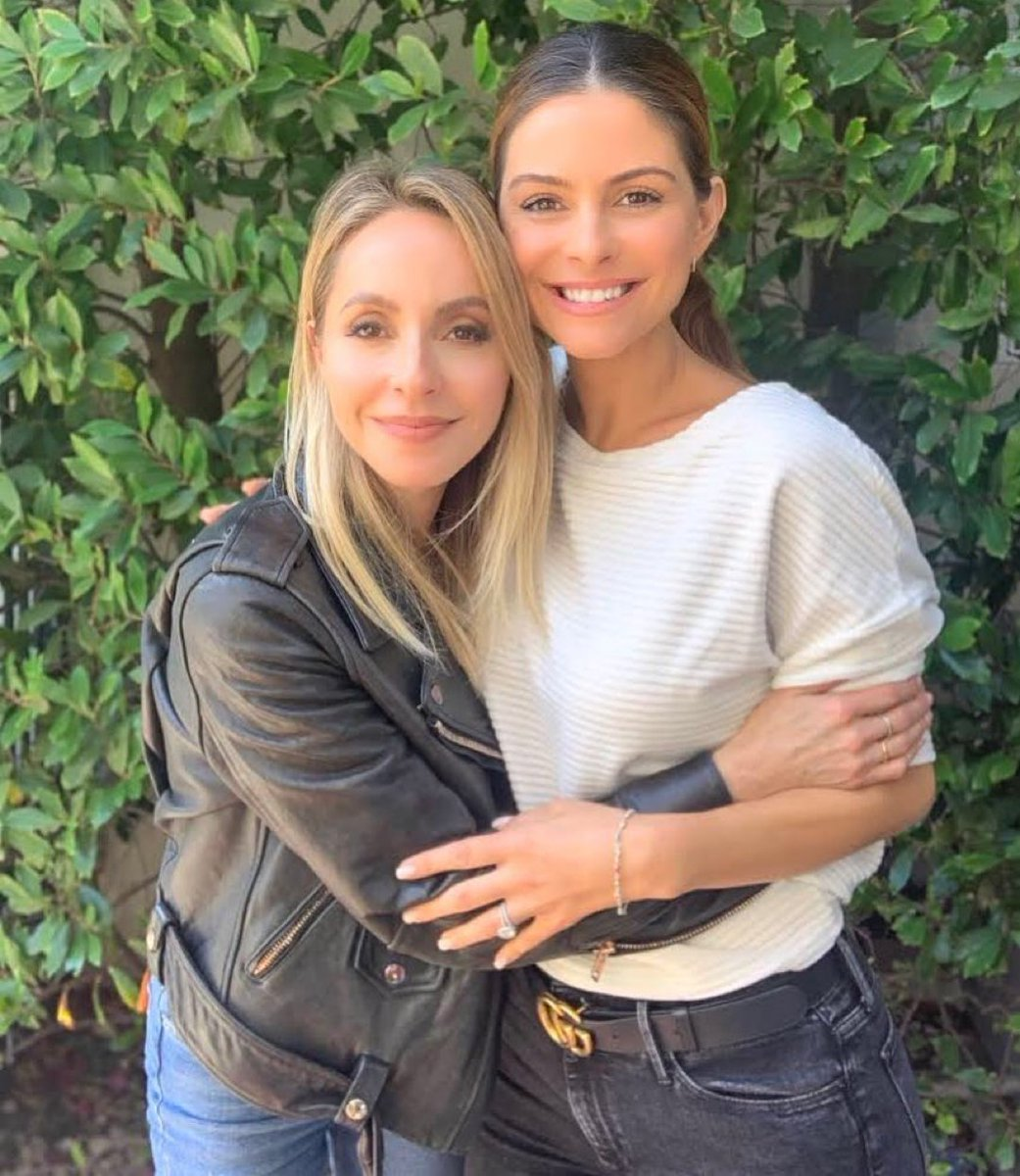 I made a new friend in L.A.... @mariamenounos is an angel! Check out our conversation about joy & manifesting on her podcast, #BetterTogether https://youtu.be/TD8OiMai0pE