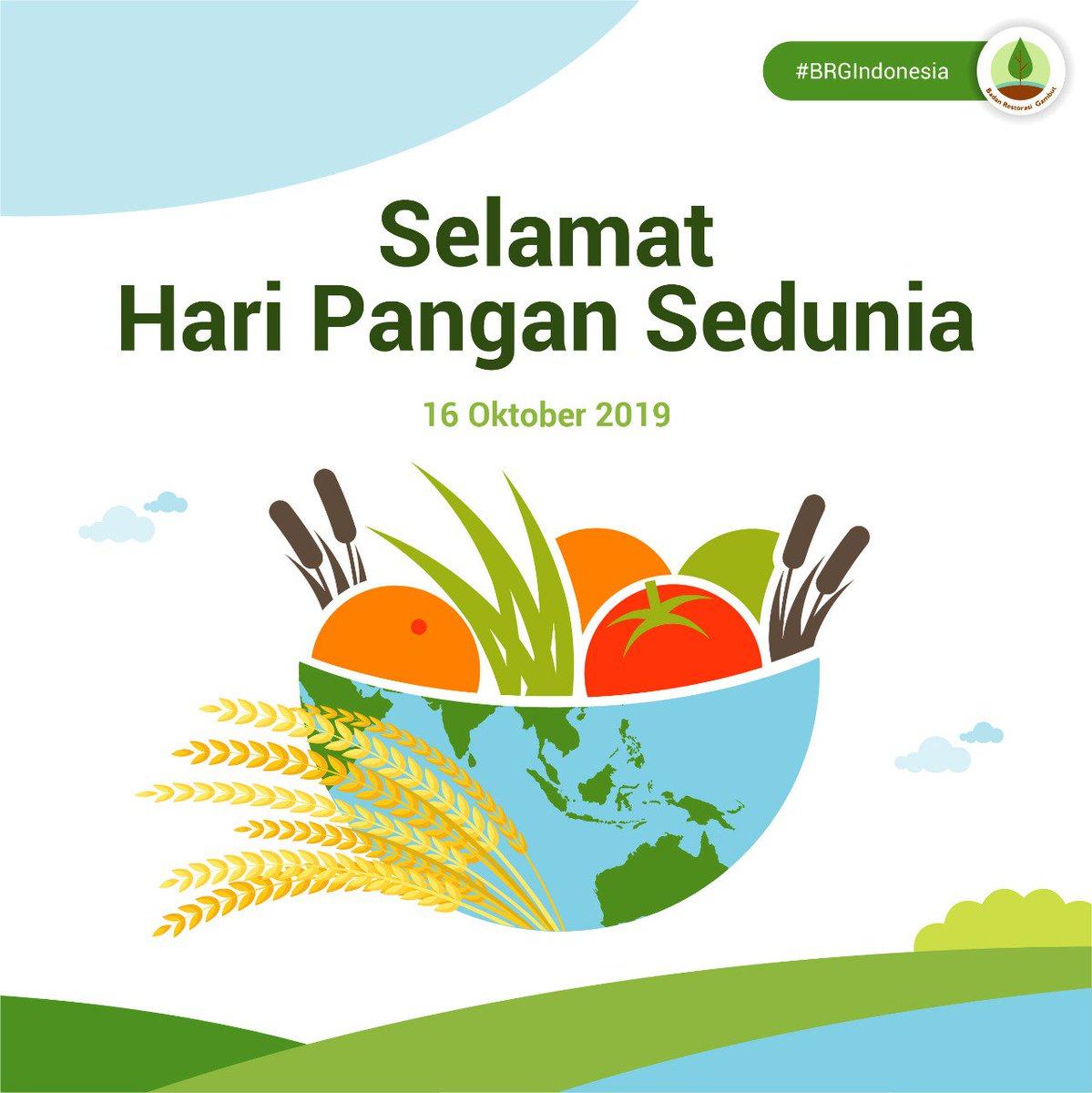 Brg Indonesia V Twitter Hari Pangan Sedunia Atau World Food Day Diperingati Setiap Tanggal 16 Oktober Zerohungerworld Worldfoodday2019 Haripangansedunia2019 Gambut Ayojagagambut Brgindonesia Https T Co Bv8qsycl2v
