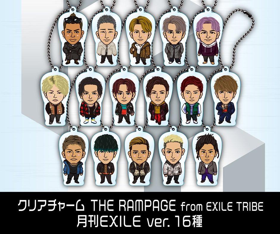 10/17(木)オンラインカプセルBOT+ツアーデザイン ver.スタート!!LINE UP大公開!! THE RAMPAGE