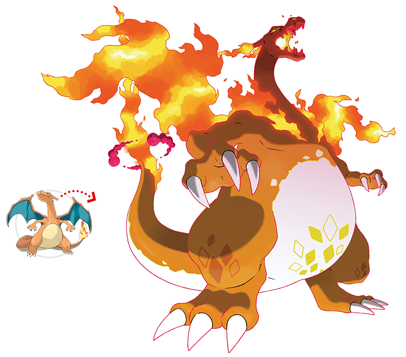 @SerebiiNet's photo on Charizard
