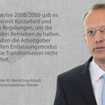 Image for the Tweet beginning: #IGMetall #Ingolstadt will die #Transformation