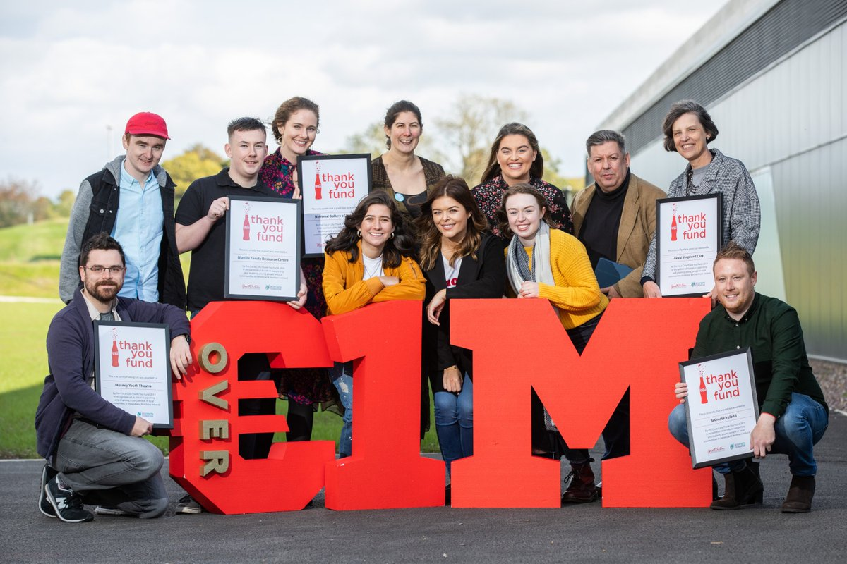 This year we reached a huge milestone for the #ThankYouFund, as we celebrate donating over €1,000,000 since its launch in 2011, helping nearly 100 non-profit organisations around the island of Ireland. 🙌. Find out about this year's wonderful winners 👉https://t.co/94in6tcYfe https://t.co/LUiZqHfro8