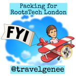 Image for the Tweet beginning: FYI - Packing for RootsTech
