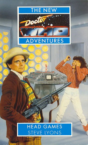 Doctor Who: Head Games (Virgin New Adventures series #43) was first published by Virgin Publishing on this day in 1995  Featuring the Seventh Doctor, Bernice Summerfield, Roz Forrester and Chris Cwej  Author: Steve Lyons  #novel #publishing #book #story #DrWho #reading #90s