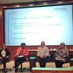 Image for the Tweet beginning: Co-lead @ednacadm moderating facilitators and