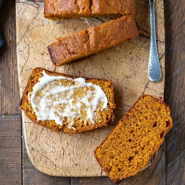 This is my fave pumpkin bread recipe! It's so quick and easy and can be made in one bowl. #pumpkinbread #pumpkin #pumpkinspice #recipe #easyrecipes #fall #baking #bake #homemade #ihearteating #breakfast #dessert #snack #pumpkinseason #baker #food #foodbl…
