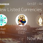 Image for the Tweet beginning: Recently three new Currencies joined