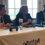 """We're trying to create best practices with models and playbooks to deliver acquisition solutions with a whole government approach.""  Keith Nakasone, speaking at this morning's #Cyber Resilience Summit."