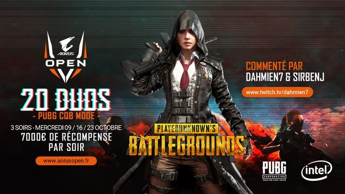 I cancel my stream. 20 minutes before sorry guys !  I'm gonna tryhard @PUBG with my baguette @SnyRoz_ for the #AORUSOpen 7,000€ Cashprize  Powered by @AORUS_France //  @dahmien7  & @SirBENJD for the cast.  Starting at 8:00 PM CEST :  https://www. twitch.tv/BryaaNz    <br>http://pic.twitter.com/UCOiZdrNYW