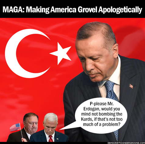 #MAGA! Making America Grovel Apologetically