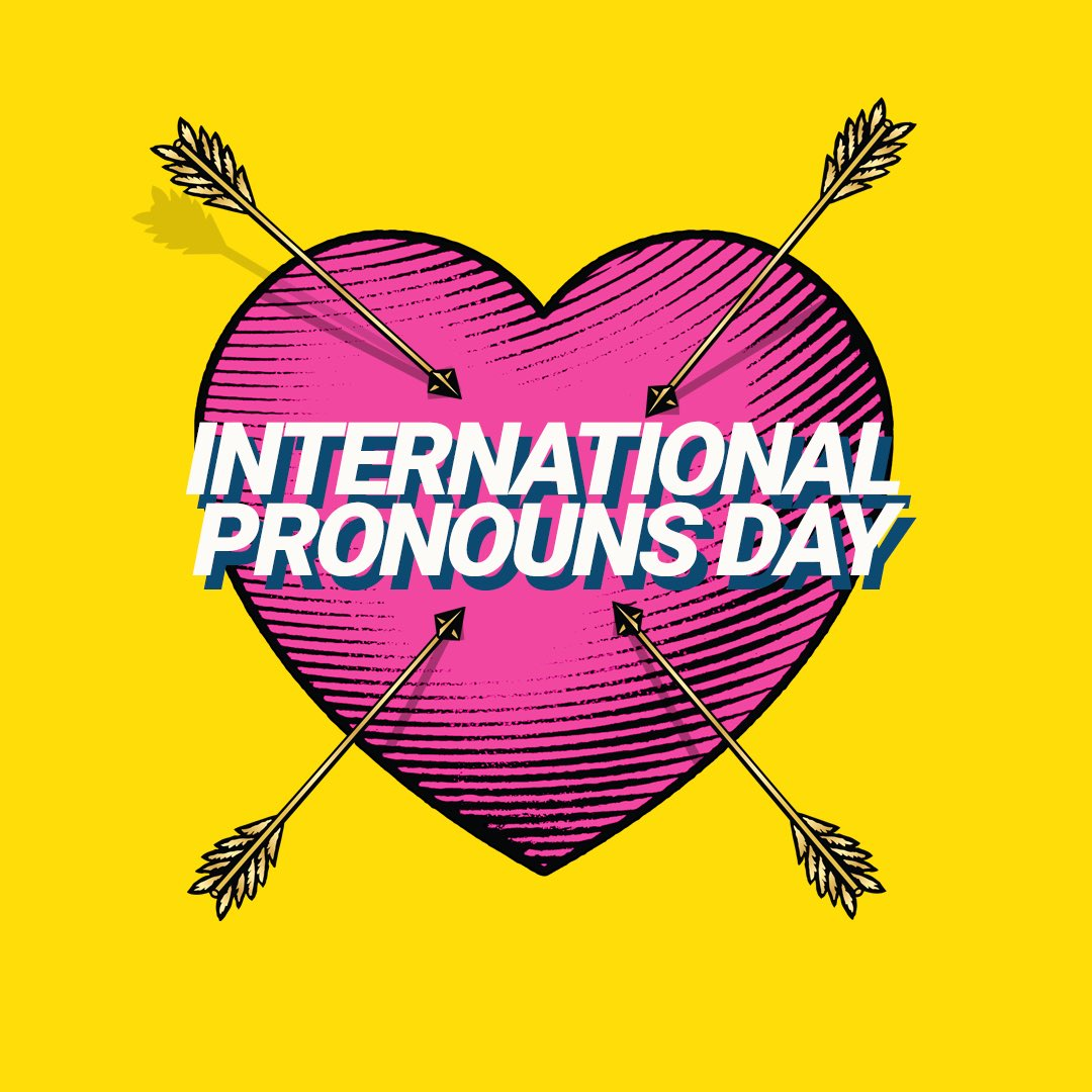 It is everyone's basic human right to be called by their respective pronouns. Your qualities transcend any rude opinion! Arcadia will always be a safe space for you and that he, she, they, and anyone in between matter. Share with us your pronouns! 💘 #PronounsDay
