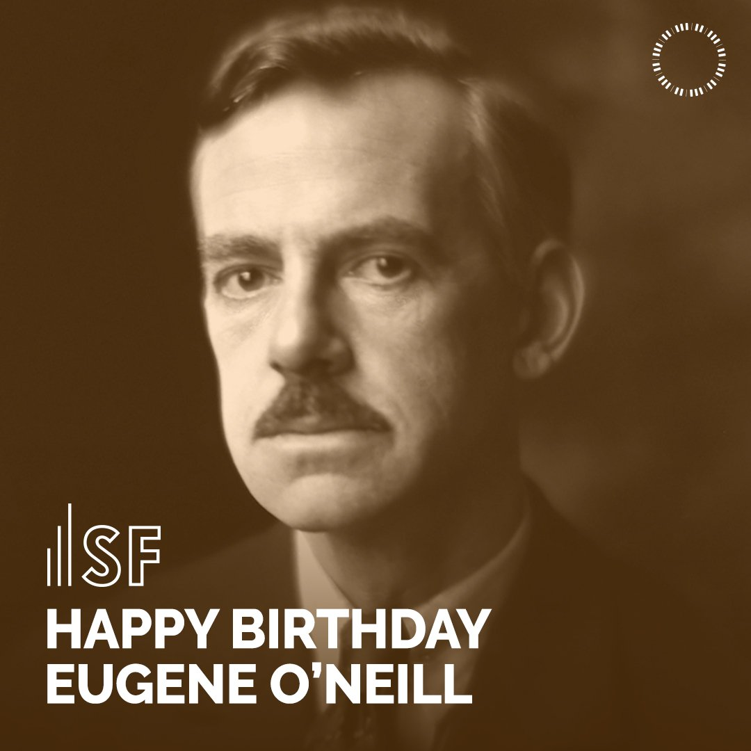 Today, we celebrate the great Eugene ONeill, American playwright and Nobel laureate in Literature, on the anniversary of his birthday! Learn more about his body of work at samfren.ch/EugeneONeill.