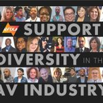 Image for the Tweet beginning: October 24 the @AVIXA Diversity