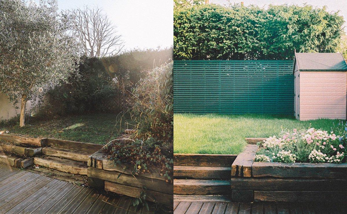 NEW POST: The garden before & after!  https://t.co/N8CDrqmTms https://t.co/hGiSMREkBw