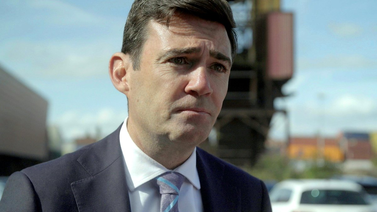 'Don't forget your promises to the North'. Tonight at 7:30pm Manchester Mayor @AndyBurnhamGM makes the case for committing to HS2 and investing in northern railways #DeathofHS2? #ITVTonight