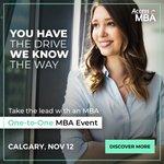 Imagen para el comienzo del Tweet: Nov 12: Acceso MBA da