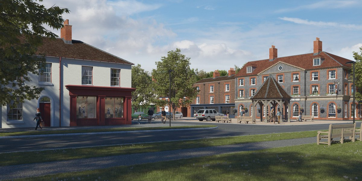 Delighted to have been involved in this project for #Welbornegardenvillage @WelborneGV @FarehamBC #planning #development #newhomes