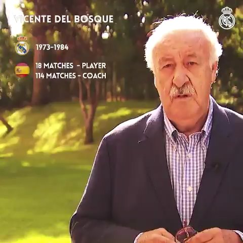 ⚽💫🔝 Regardez les réponses d@ivanhelguera1, Vicente del Bosque et Camacho, entre autres légendes du @realmadrid, à la question du défi des 200 matchs de @SergioRamos avec la @SeFutbol! #SRecord168 | #HalaMadrid