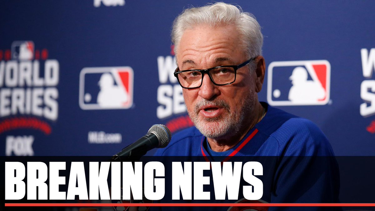 Breaking: The Los Angeles Angels have hired Joe Maddon as their next manager, the team announced Wednesday.  Maddon is expected to receive a three-year contract worth $12 to $15 million, a source told Jesse Rogers (@ESPNChiCubs).