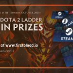 Image for the Tweet beginning: This week's #DOTA2 ladder is
