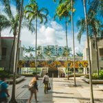 Image for the Tweet beginning: Another beautiful day at #FIU,