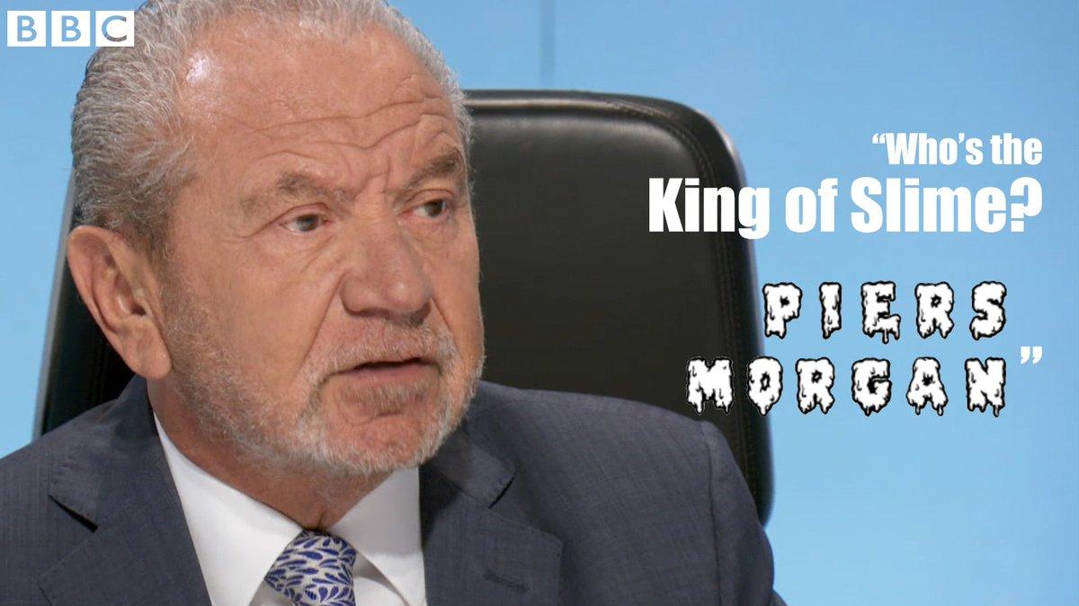 Burn. 😂 @Lord_Sugar @PiersMorgan @BBCApprentice #TheApprentice