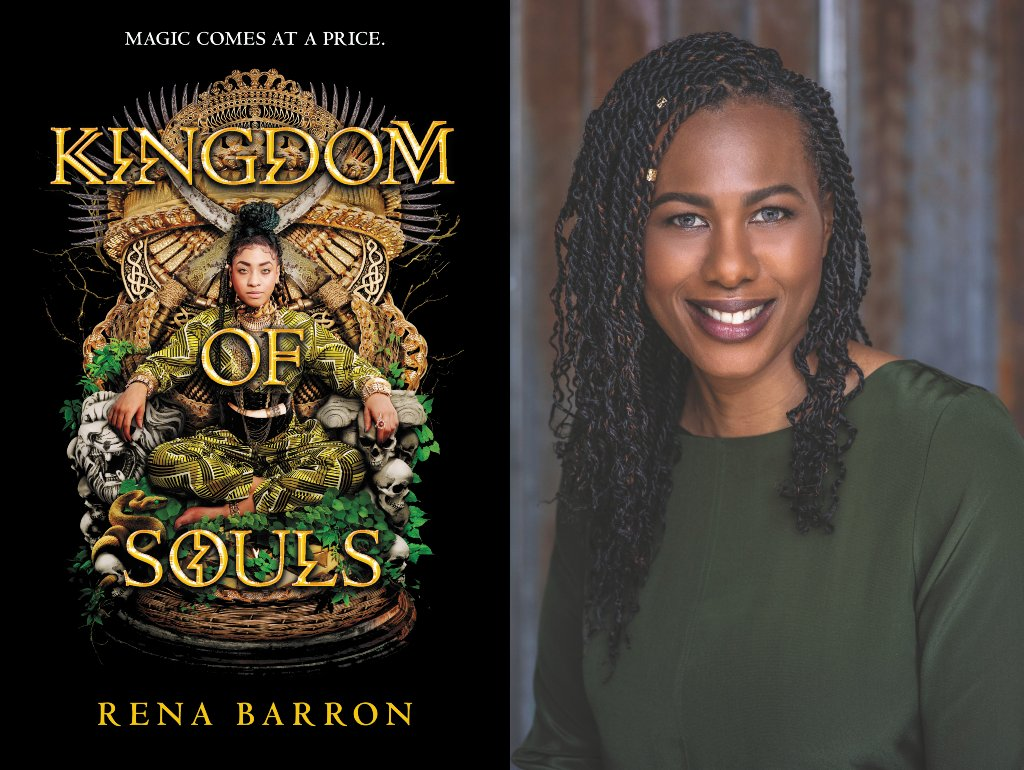 #Chicago, TOMORROW is your chance to meet KINGDOM OF SOULS author @renathedreamer in conversation with @lilrongal and @amandajoywrites at @SemicolonChi! Get all the details here: ow.ly/FImO50wBPra