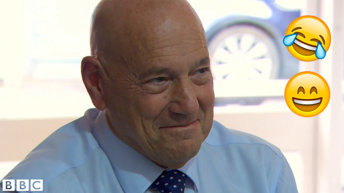 Is that... is that a smile, @ClaudeLittner? #TheApprentice @BBCApprentice