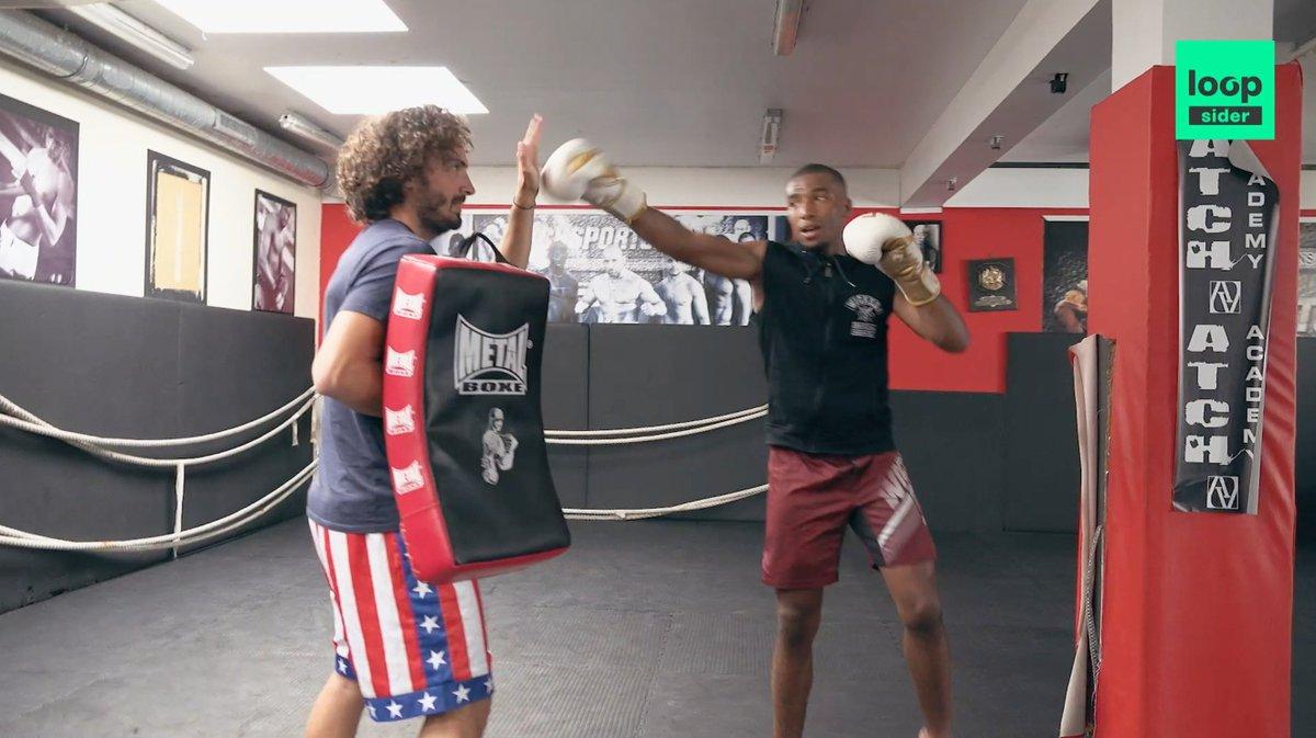 S'est-il cassé une côte ? 😂  À ses risques et périls, @MaximeMusqua a partagé une journée de la vie du champion français de MMA : @salahparnasse.  Suivez-le ! 👇 http://bit.ly/MUSQUAMMA
