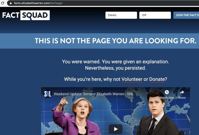 lHuEU1Go_normal Elizabeth Warren Deletes Tweet Announcing Her DNA Test Results [your]NEWS