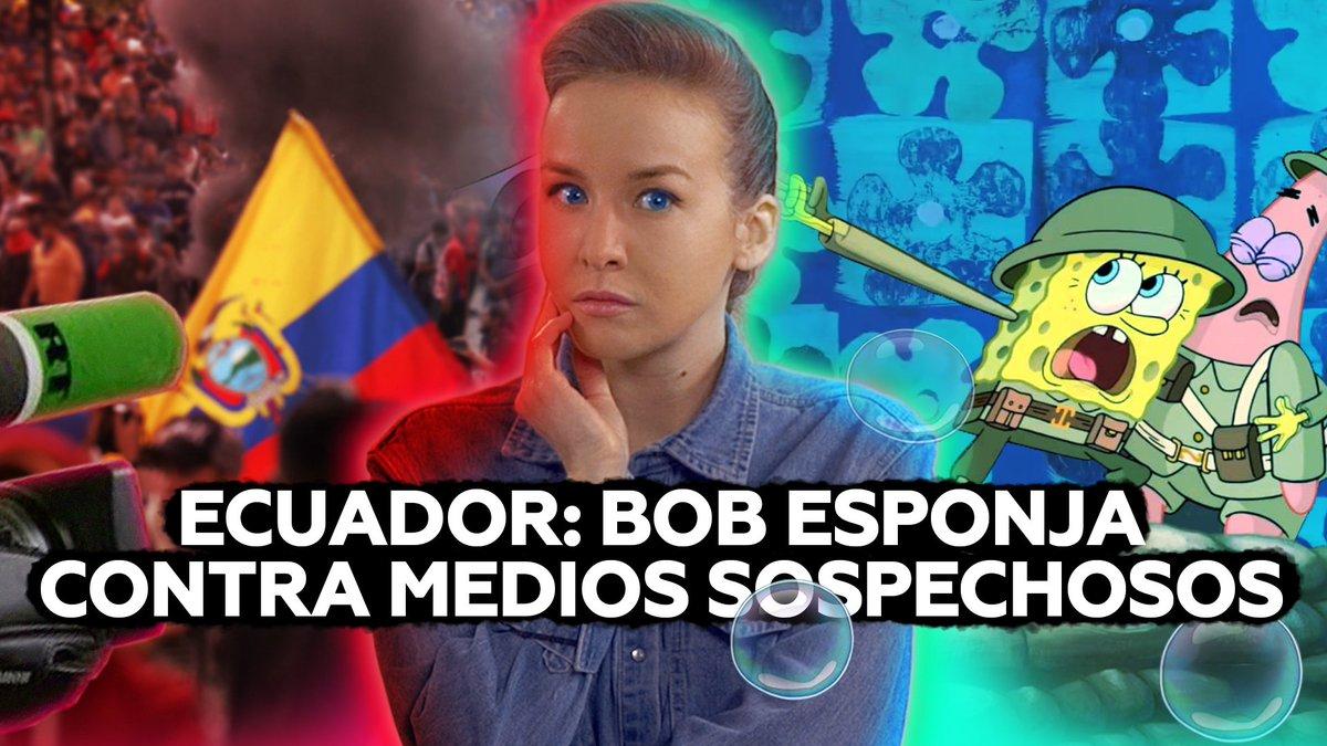 """Si, como a la ministra de Gobierno ecuatoriana, también les parece """"llamativo"""" que un canal ruso que emite en español desde hace diez años cubriera las protestas en Ecuador, esperen a conocer cómo fue el abordaje de los grandes medios de ese país @inafinogenova"""