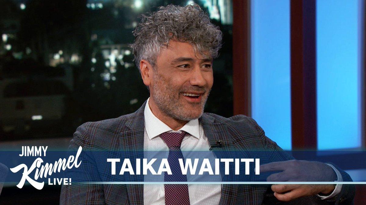 Image for the Tweet beginning: New Zealand's own @TaikaWaititi, director