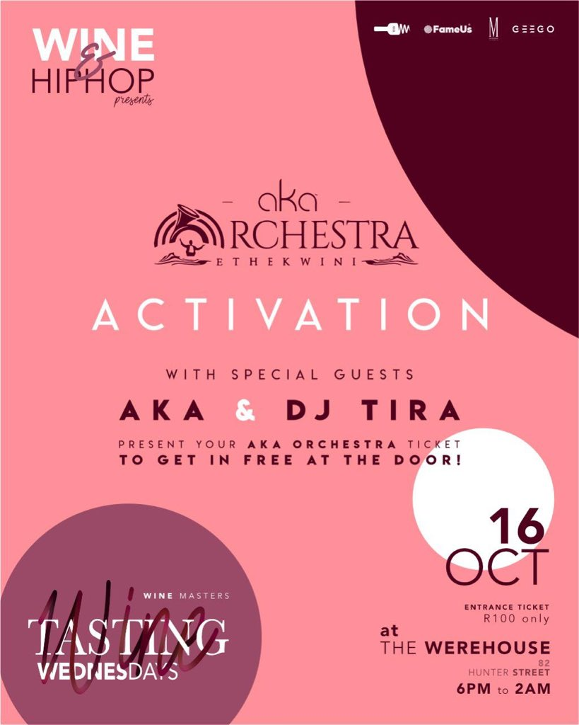 And for our final magic trick ... we are activating #AKAOrchestraEThekwini at The Werehouse tonight.  <br>http://pic.twitter.com/NotF037Ci0