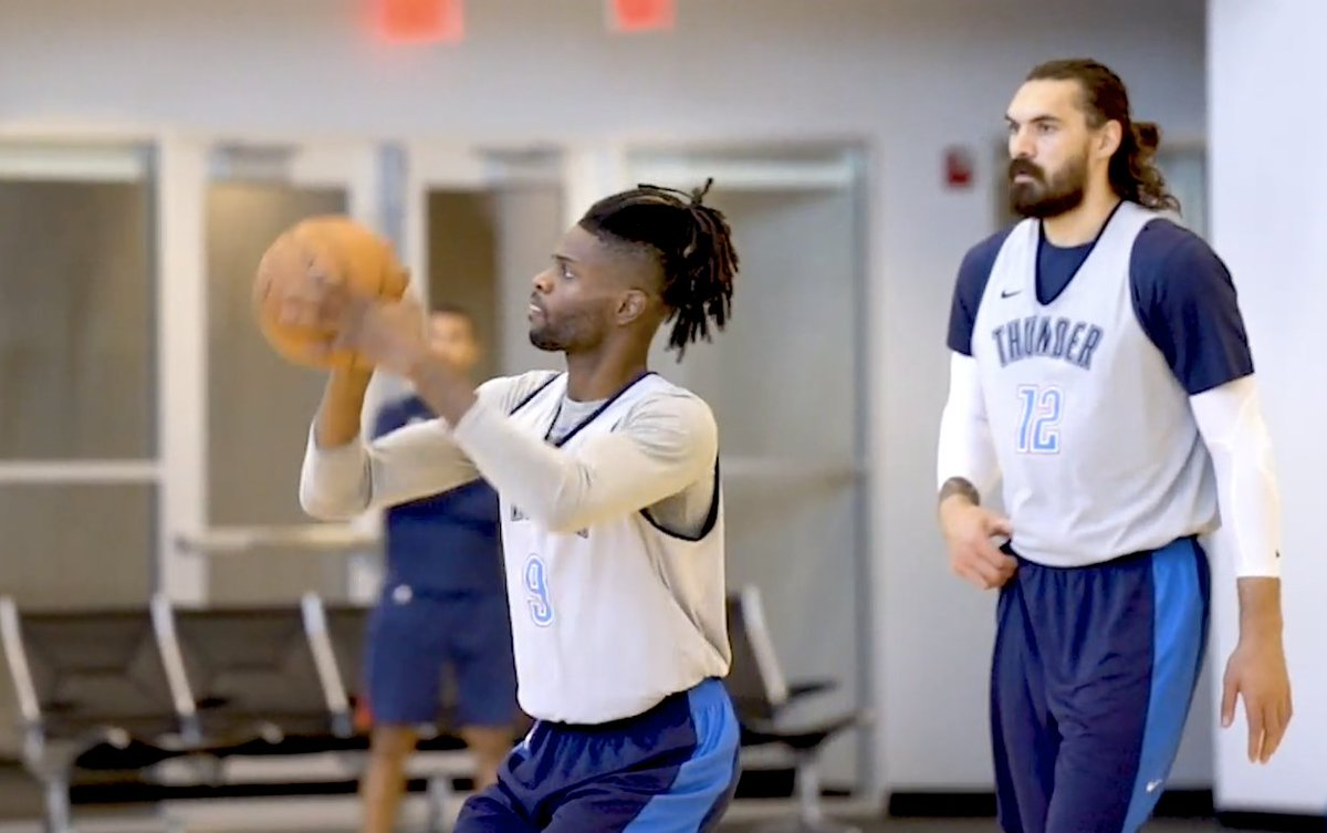 🎥 // today's practice report  Be sure to catch the live stream of tonight's game on the Thunder App 📲
