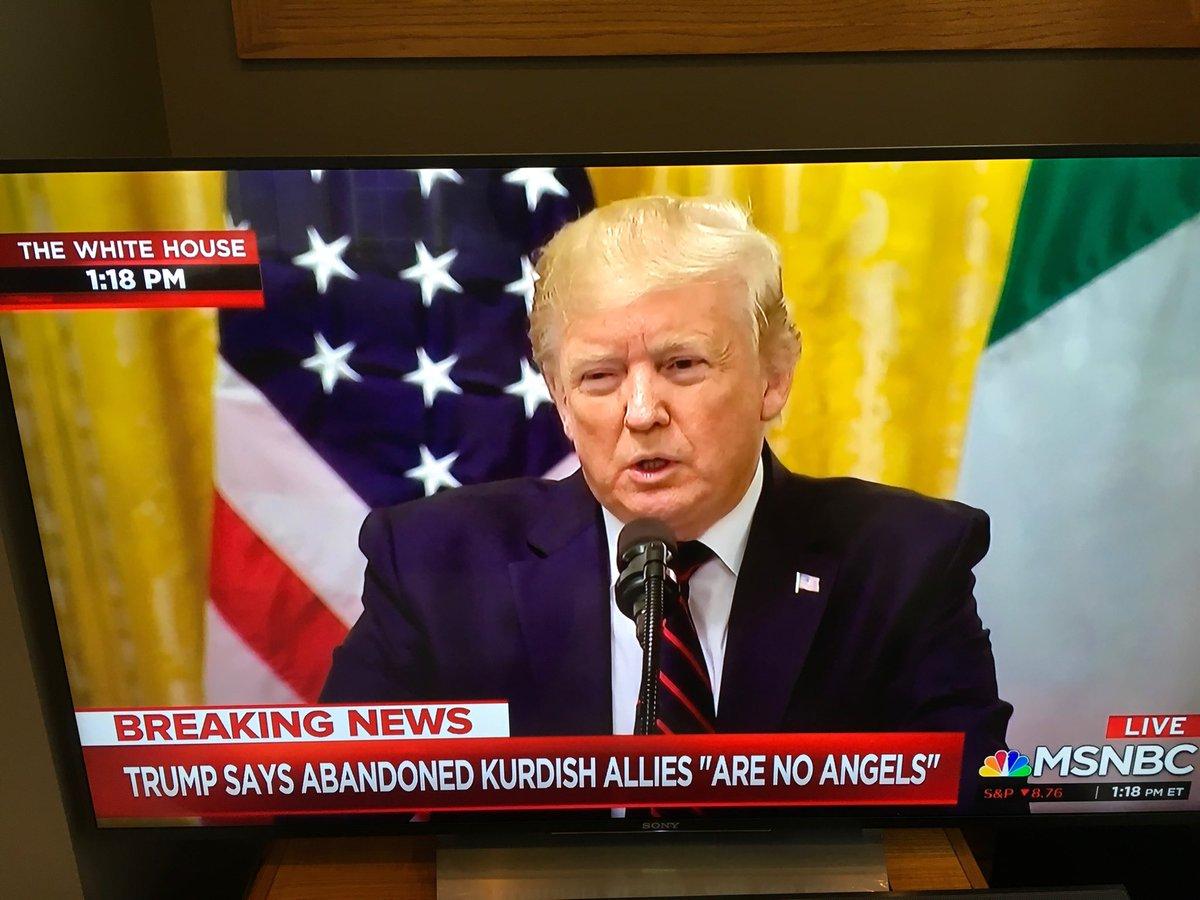 Stream of conscienceless.#TrumpGenocide